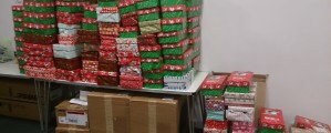 Shoeboxes from Shireland are on their way!