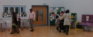 Art Exhibition at Parents' Day