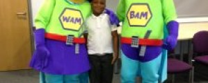 WAM and BAM help celebrate success