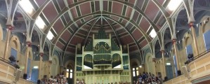 Choir perform at West Brom Town Hall