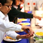 Halal options prove popular with pupils