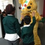 Pudsey Visits SHP
